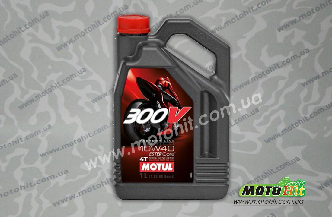 300V 4T FACTORY LINE SAE ROAD RACING 10W40 (4L)  в магазине MotoHit Service.