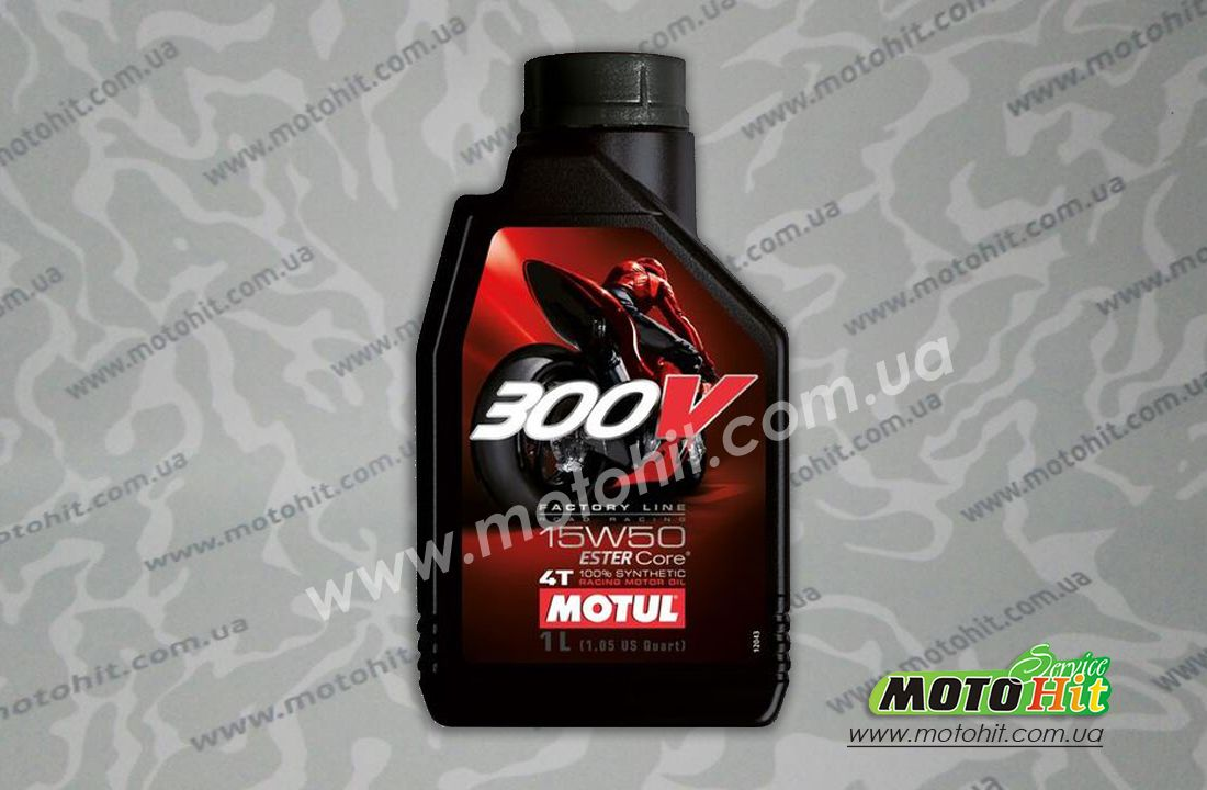 300V 4T FACTORY LINE ROAD RACING SAE 15W50 (1L)  в магазине MotoHit Service.